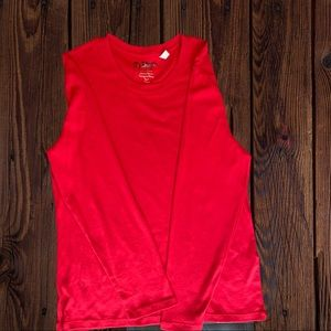Chico Brand Red Long Sleeved Size 2 Shirt
